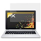 atFolix Panzerfolie kompatibel mit Acer Aspire Switch 11 Schutzfolie, entspiegelnde & stoßdämpfende FX Folie (2X)