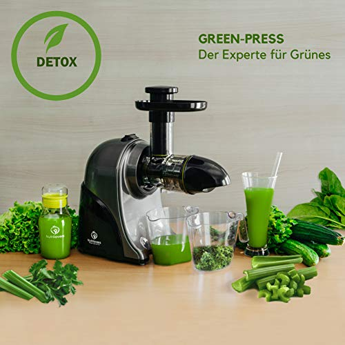 Nutrilovers Slow Juicer GREEN-PRESS - 7