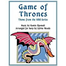 Game of Thrones: Arranged for Harp by Sylvia Woods (2016-12-12)
