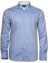 Pal Zileri Lab. Hommes Chemise manches longues Bleu 50092-02-P70M752, EUR taille:39