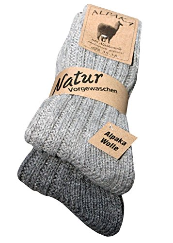 fluffy warm winter socks alpaca socks 2 pairs ´warm feet during the cold times of year´