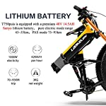 LANKELEISI-750PLUS-48V145AH-1000W-motore-bicicletta-elettrica-full-optional-2640-pneumatico-allingrosso-Ebike-bici-27-velocit-mountain-bike-pieghevole-bicicletta-elettrica-adulto-femmina-maschio