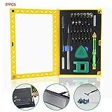 Coomir 37pcs Schraubendreher Set Multifunktions Tragbare Reparatur für Handy PC Kamera Uhr Reparatur