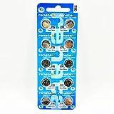 Renata 390 Uhrenbatterien, 10er-Pack