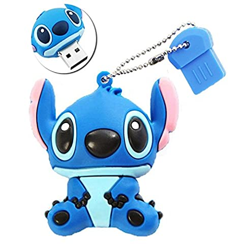 Porte Cle Stitch - Sunworld Clef USB 16 Go Originale Clés