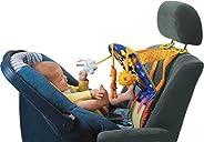العاب تاف لاصابع قدم الطفل في مقعد السيارة | مركز انشطة والعاب للركل مع موسيقى ووء ومراة والعاب متدلية تغني |