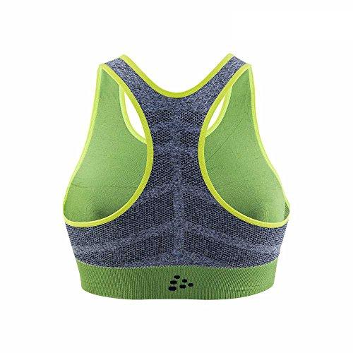 Craft Damen Comfort Mid Impact Bra Sport-Bh Depth