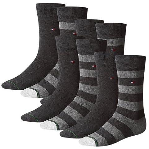 TOMMY HILFIGER Herren Rugby Socken 8er Pack