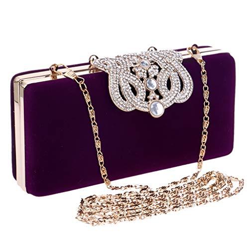 Mitlfuny handbemalte Ledertasche, Schultertasche, Geschenk, Handgefertigte Tasche,Damenmode Abend Handtaschen Party Sparkly Clutch Geldbörse Schulter Cross Bag