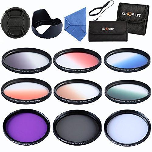 *K&F Concept® Objektiv Filterset 52mm 6er Verlaufsfilter 52mm*