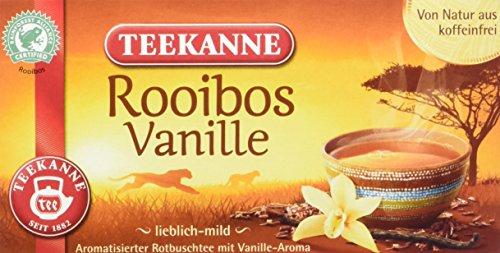 Teekanne Rooibos Vanille, 6er Pack (6 x 35 g) -