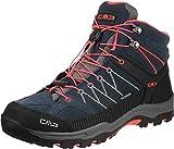 CMP Campagnolo Unisex-Erwachsene Rigel Trekking-& Wanderstiefel, Grau (Antracite-Red Fluo), 41 EU
