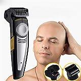 IFANSTYLE Capelli rasoi 2 in 1 Hair Clipper & Rasoio Elettrico 9 Lunghezza Pettine USB Ricaricabile Design Speciale per Testa Calva e Viso Skull Shaving