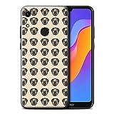 eSwish Phone Case for Huawei Honor 8A/Play Cartoon Pug/Dog