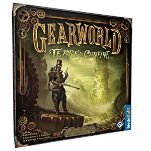 Giochi Uniti Gearworld - Juego de tablero, Terre di Confine Importado de Italia