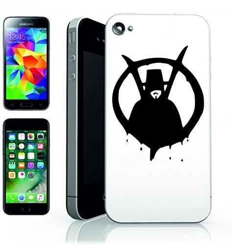 Smartphone Case Vendetta uomo di film della persona per Apple Iphone 4/4S, 5/5S, 5C, 6/6S, 7& Samsung Galaxy S4, S5, S6, S6Edge, S7, S7Edge Huawei HTC–Divertimento Motiv di culto Idea Regalo P