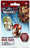 Jurassic World Dog Tags Sticker