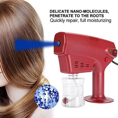 YWJH Nano Dampfpistole Haardampfer Haarfärbemittel Dampfer Luftbefeuchter Haarpflegewerkzeug Geeignet Für Haus Und Schönheitssalons