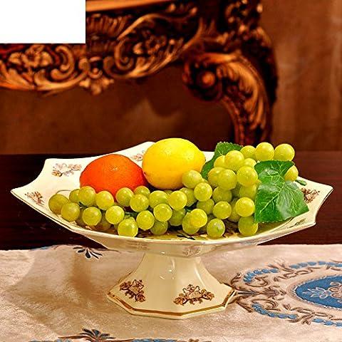 Keramik-Platte Europäischen Stil modern home Decoration Vintage Obstteller Geschenke