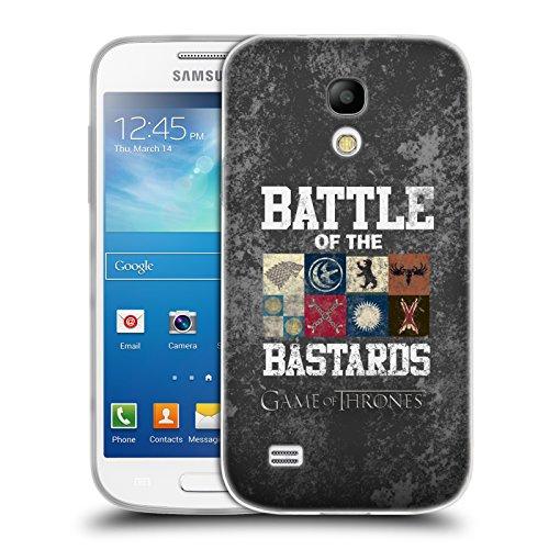 Offizielle HBO Game Of Thrones Text Und Siegel Battle Of The Bastards Soft Gel Hülle für Samsung Galaxy S4 mini I9190