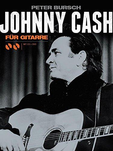 Johnny Cash für Gitarre (German): Noten, Sammelband, Bundle, CD, DVD (Video)