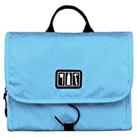 BAGSMART Portable Folding Travel Toiletry Hanging Wash Bag