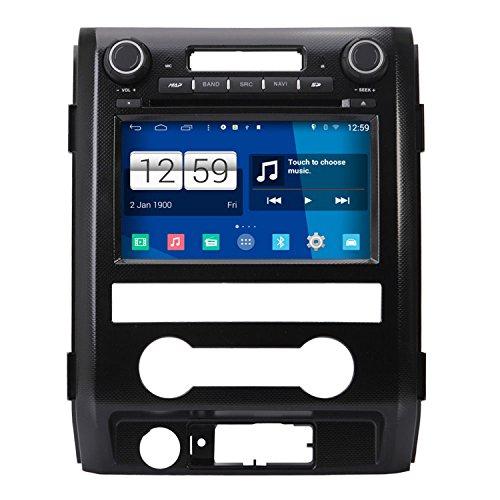 tem 8 Zoll Autoradio GPS für Ford F150 F-150 SVT Raptor 2009 2010 2011 2012 2013 2014 2015 mit Navigation Radio Stereo DVD Bluetooth SD USB Touch Bildschirm (Bluetooth-auto Stereo-f150)