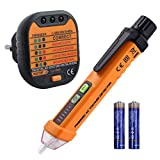 TENSIONE di elettricità Tester Volt circuito rivelatore di rete test Torcia LED Penna Tascabile