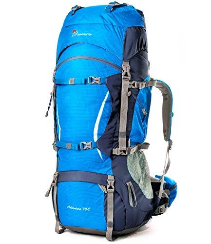 Imagen de mountaintop 70l+10l  trekking/  de viaje/ de marcha/ impermeable / para deporte aire libre 5805iii