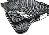 NEU! Gummimatten Seat Leon 1P Fußmatten Gummi Original Qualität GTI R Auto Allwetter 4-teilig schwarz
