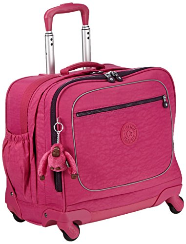 Kipling - MANARY - Zaino con custodia per portatile - Pink Berry C - (Rosa)