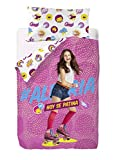 Disney Soy Luna Alegria–Sacco copripiumino de poli-cotone,...