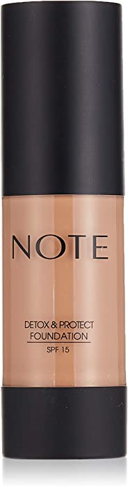 Note Detox And Protect Foundation 107 - Toffee