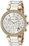 MK de montres femme Montre bracelet Femme Rose Argent MK5774