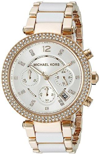 MK Damen Armbanduhr Uhren Handgelenk Farbe Rosa MK5774