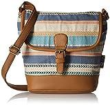 #8: Kanvas Katha Women's Sling Bag (Multi color) (KKRJQ015)