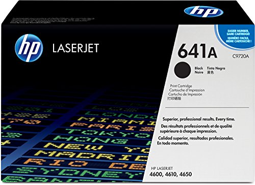 Preisvergleich Produktbild HP 641A (C9720A) Schwarz Original Toner für HP Color Laserjet 4600, HP Color Laserjet 4650