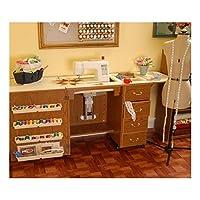 Mueble para máquina de coser- Norma Jean Roble de Arrow Cabinets