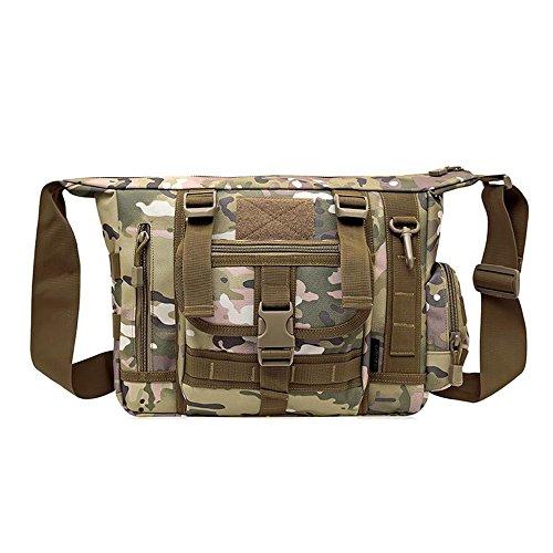 MJ Camouflage Schulterbeutel / Männer Computerbeutel / Männer Kurierbeutel / im Freiengebirgskletternfreizeitpaket 3