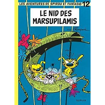 Spirou et Fantasio, tome 12 : Le Nid des Marsupilamis