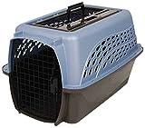 Petmate 2 Door Top Load Carrier, 24-Inch, Ash Blue