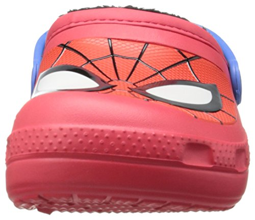 Crocs Cc Spiderman Lined, Sabots Mixte Enfant Rouge (Red)