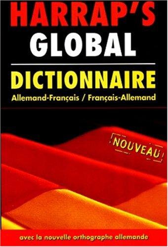 Harrap's Global : Allemand/français, français/allemand