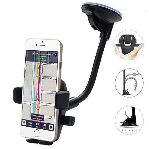 Handy-Halterung, flexibler Telefonhalter Universal Armaturenbrett Smart Handy Clip Halter für iPhone 7 Plus / 7/6, Samsung Galaxy S7 / S7 Edge / Note 5, Nokia, LG und vieles mehr - 7 Gel Case Lg Tablet