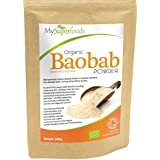 Baobab organique en poudre (500g)   La plus haute qualité disponible   Par MySuperfoods