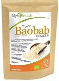 Baobab organique en poudre (500g) | La plus haute qualité disponible | Par MySuperfoods