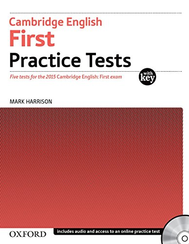 Cambridge English First Practice Tests: First Certificate Test with Key Exam Pack 3rd Edition (First Certificate Practice Tests)