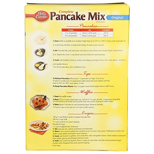 Betty Crocker Breakfast Pancake Mix Original , 1kg