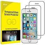 JETech Film de Protection d'écran pour iPhone SE, iPhone 5s et iPhone 5 en Verre...