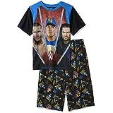 John Cena de WWE, Randy Orton y Roman Reigns Boys pijama, tamaños 4–16